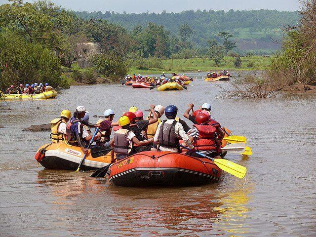 River Rafting in Kundalika River , Kolad