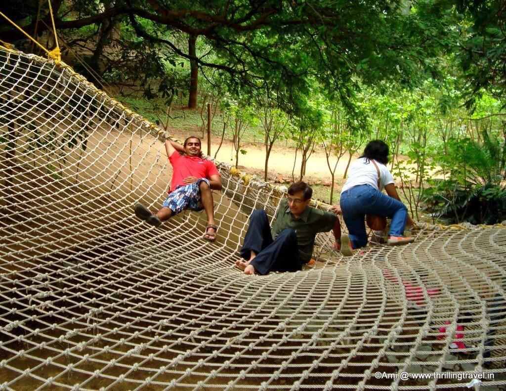 Spiders Web at the Bheemeshwari Fishing Camp