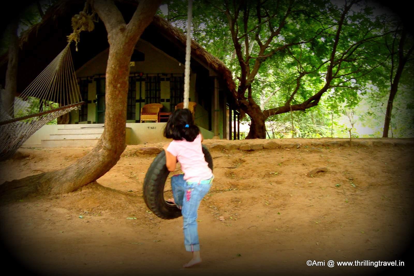 Be a kid at the Bheemeshwari Fishing Camp