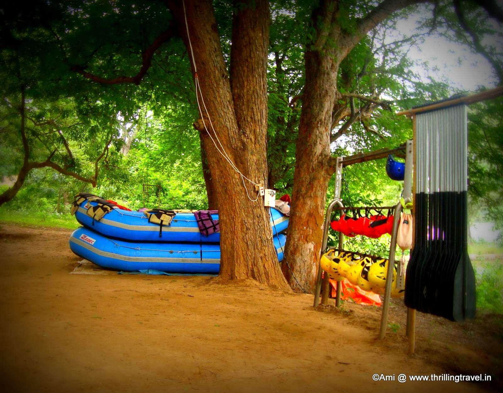 Adventure Sports at Bheemeshwari Fishing Camp