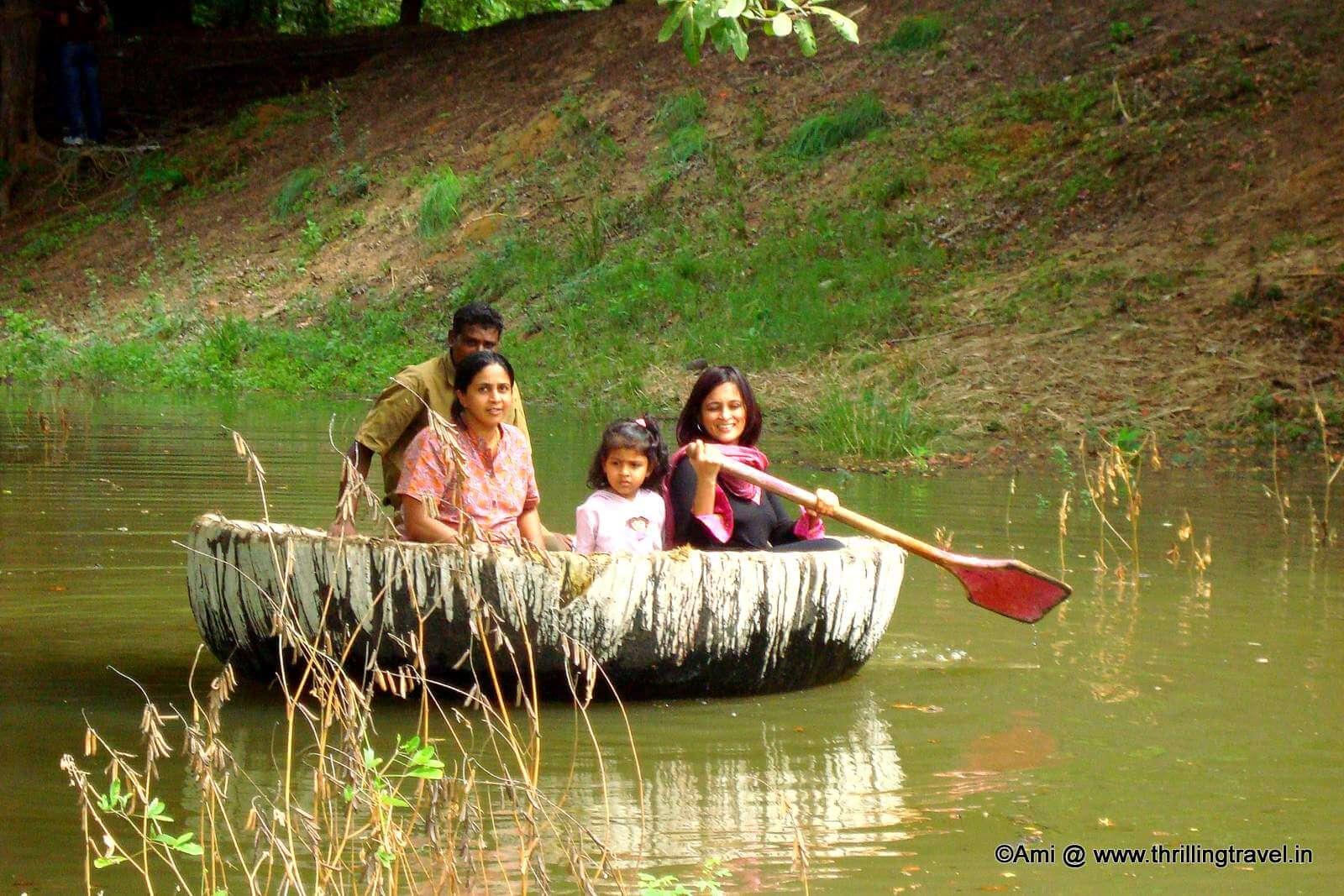 Coracle Ride at Bheemeshwari Fishing Camp