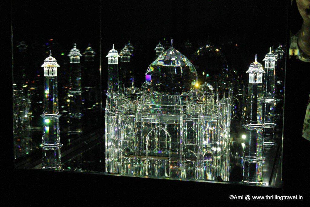 The Taj in Crystal Swarovski