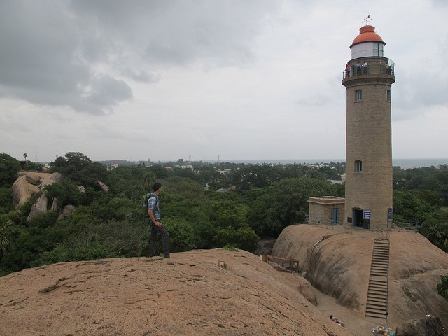 Lighthouse at Mahabalipuram                                Image Credits: Christopher Porter under CC by NC ND 2.0