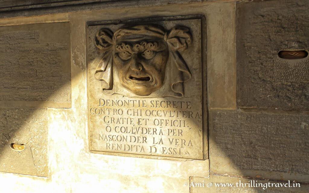 Bocca di Leone at Doge's Palace