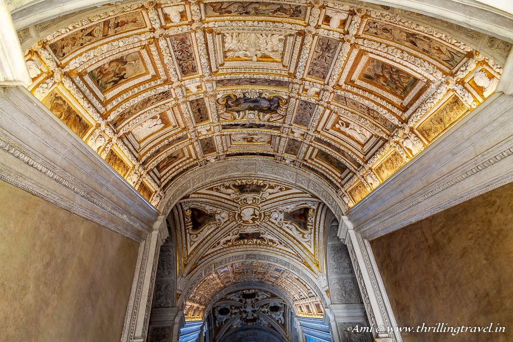 Explore Doge's Palace through its Golden staircase - Scala D'Oro