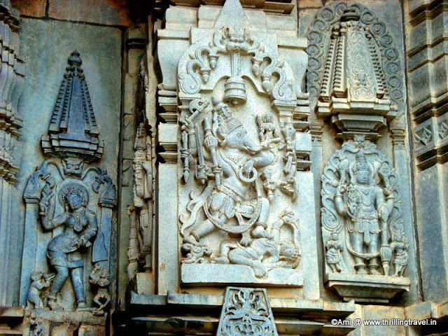 Varaha incarnation of Vishnu on Chennakesava temple, Belur