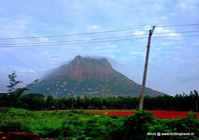 Hills near Chintamani