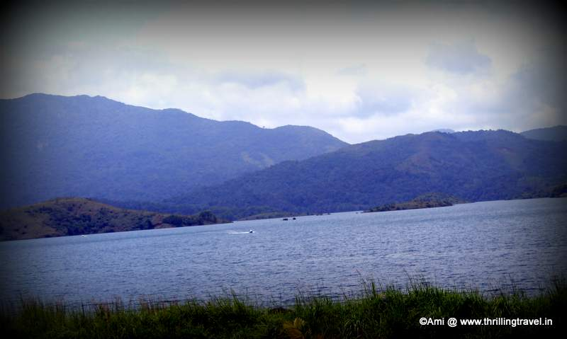 Islands and Speed boating at Banasura Sagar Dam