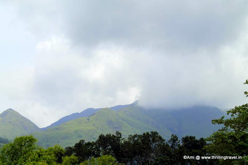 Misty Hills along the Banasura Dam