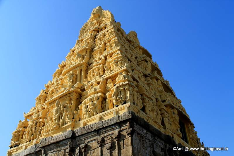 Gopuram at Chennakesava temple, Belur