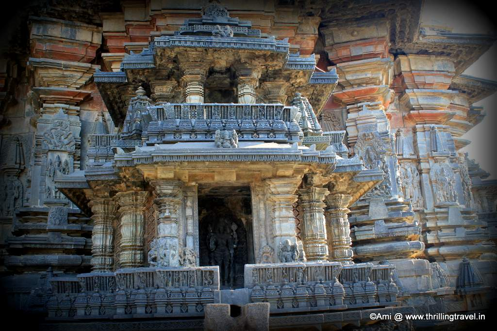 Miniature Shrines at Chennakesava Temple, Belur