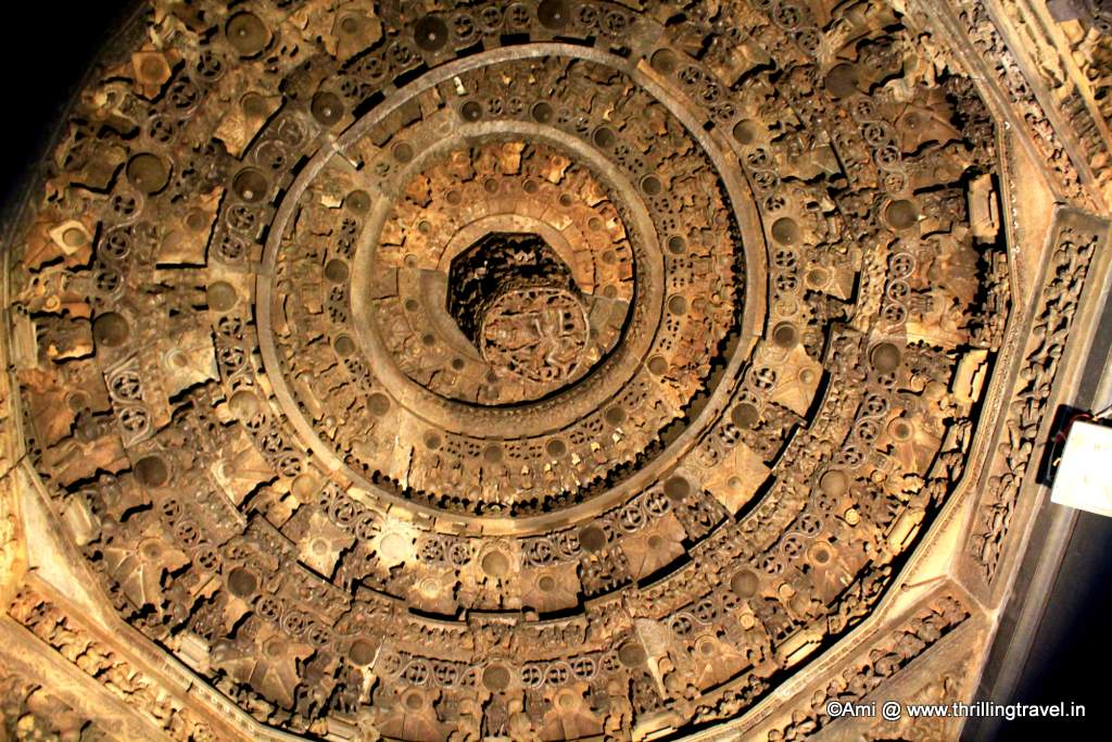 Ceiling  in Chennakesvara temple, Belur