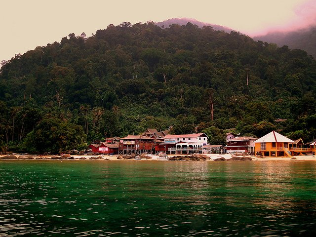 Tioman Island                                                          Image Credits; Calflier001 under CC by 2.0, via Flickr