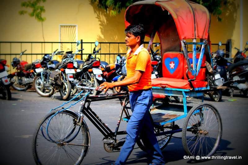 Tuk Tuks in Jaipur, Rajasthan
