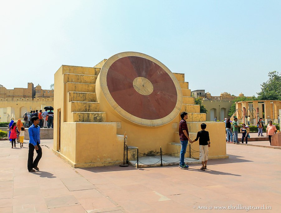 Narivalya Yantra at Jantar Mantar in Jaipur