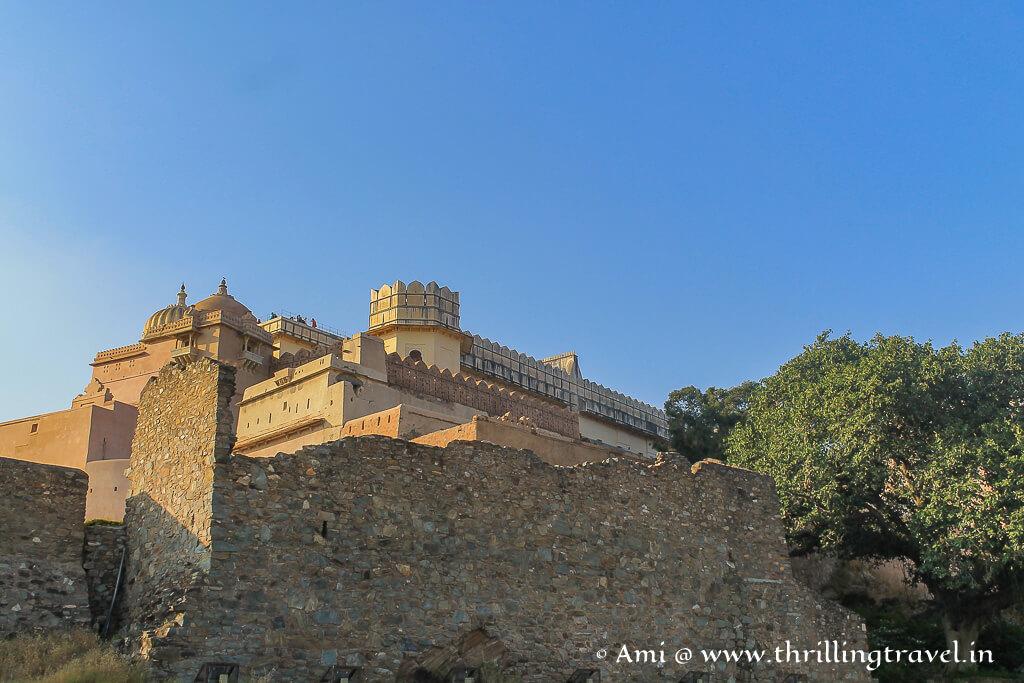 Floating through the Badal Mahal at Kumbhalgarh Fort