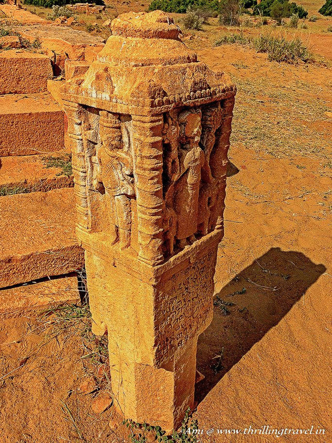 Cenotaph at Kuldhara Village