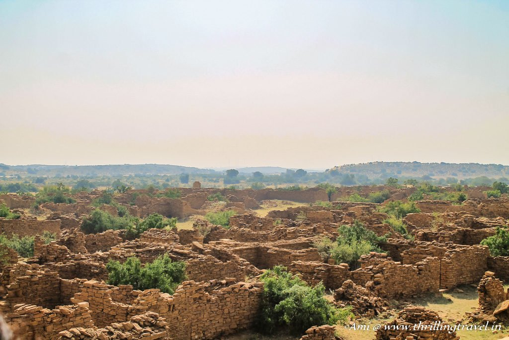 Ghost Town of Kuldhara in Jaisalmer