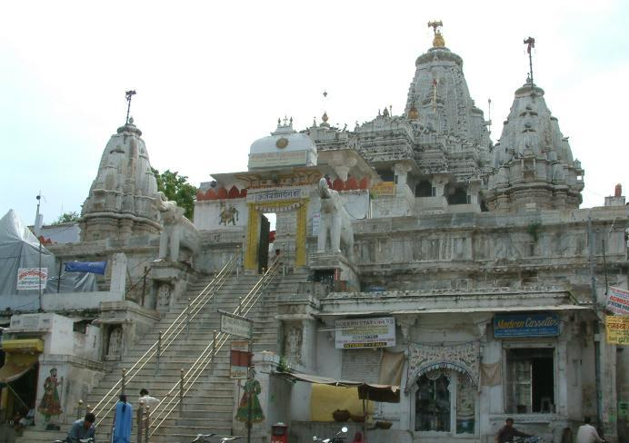 Jagadish Mandir near the City Palace Udaipur