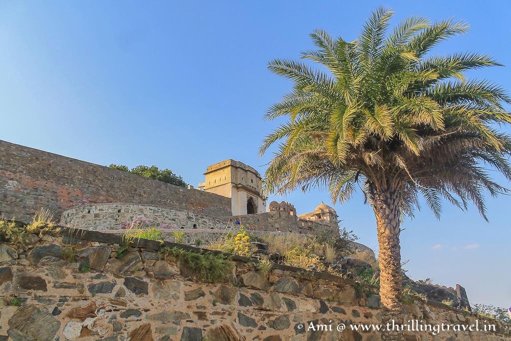 The mighty Kumbhalgarh fort
