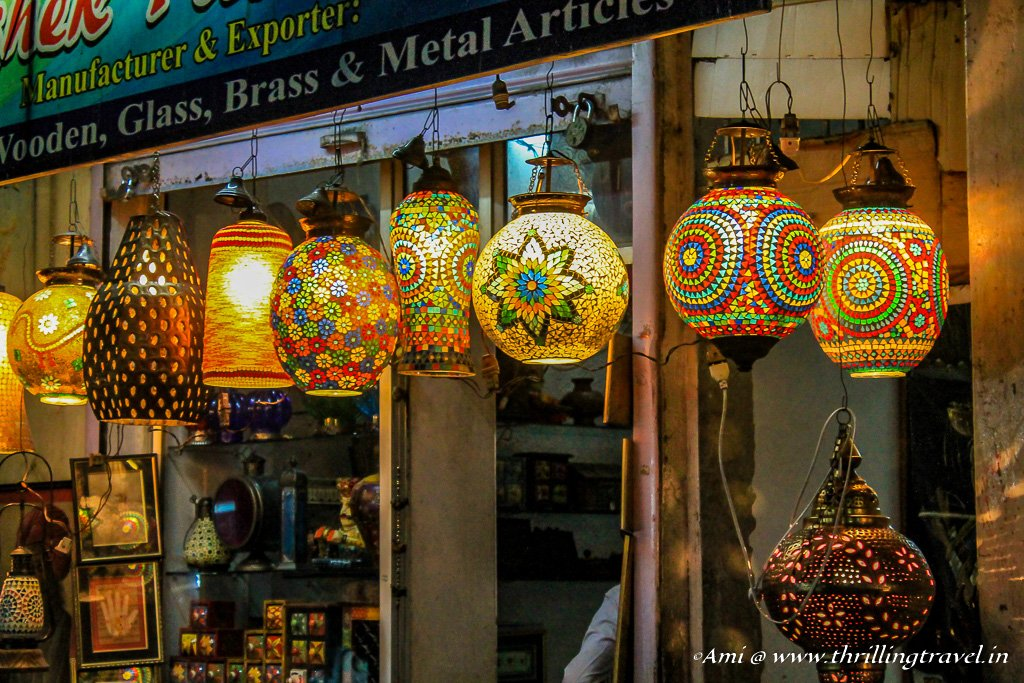 Lamps in Udaipur