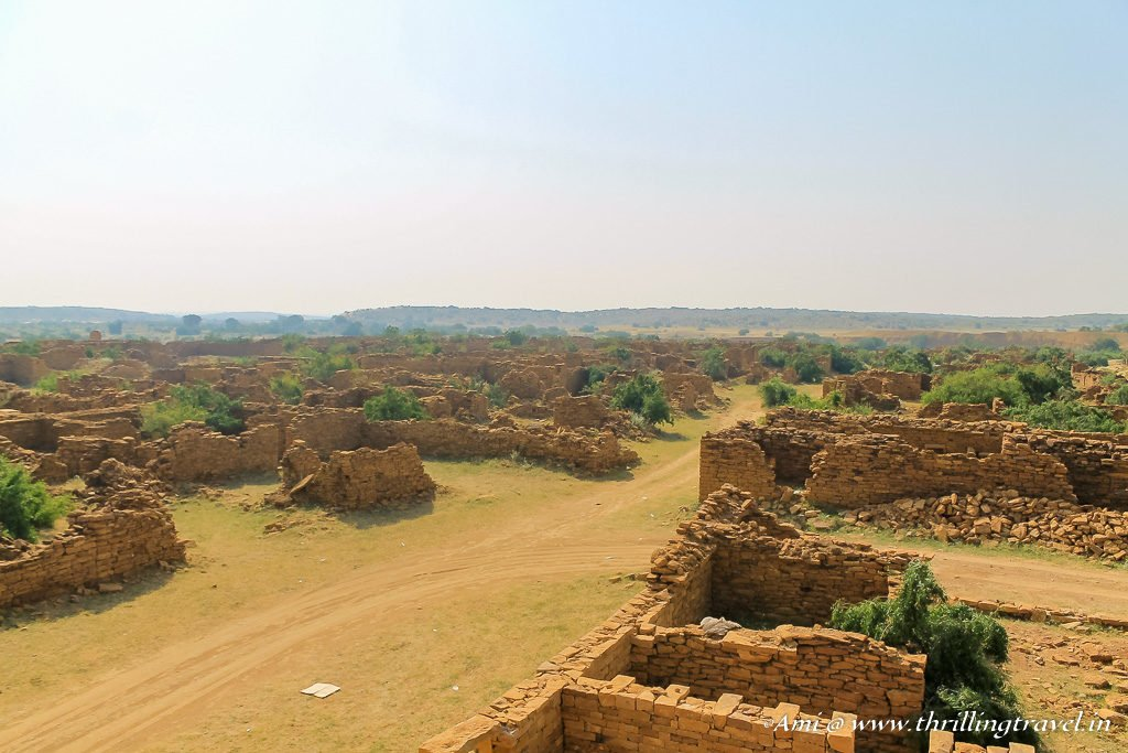 Ruins of various homes in Kuldhara
