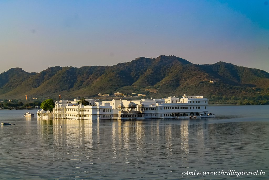 Lake Palace in Lake Pichola, Udaipur