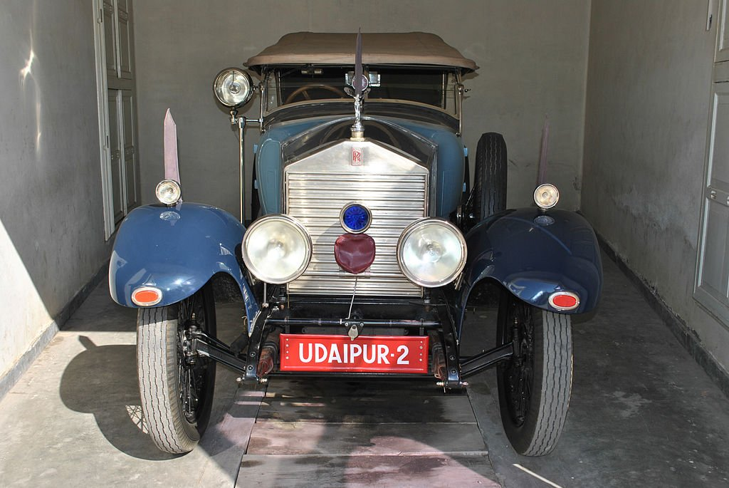 Rolls Royce at the Vintage Car Museum, Udaipur