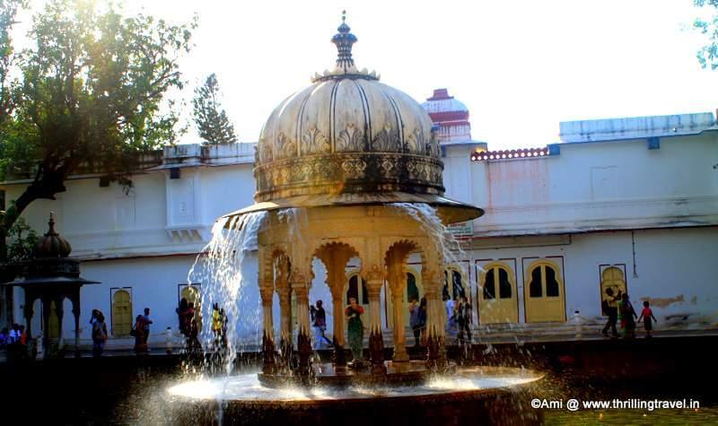 Ras-Lila Fountain at Saheliyon Ki Bari, Udaipur