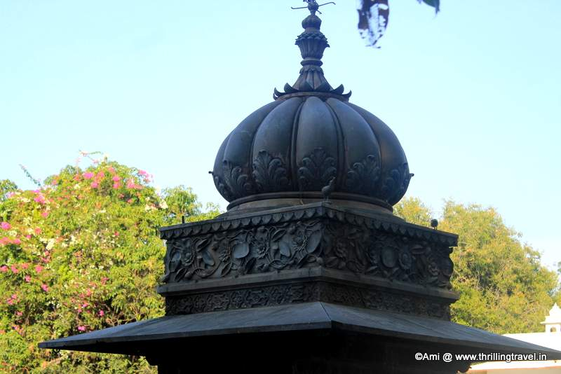 Carvings on the Marble Pavilion at Saheliyon Ki Bari, Udaipur