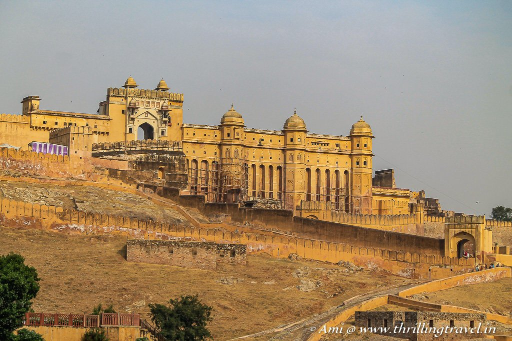 Amer fort - the old capital of Jaipur