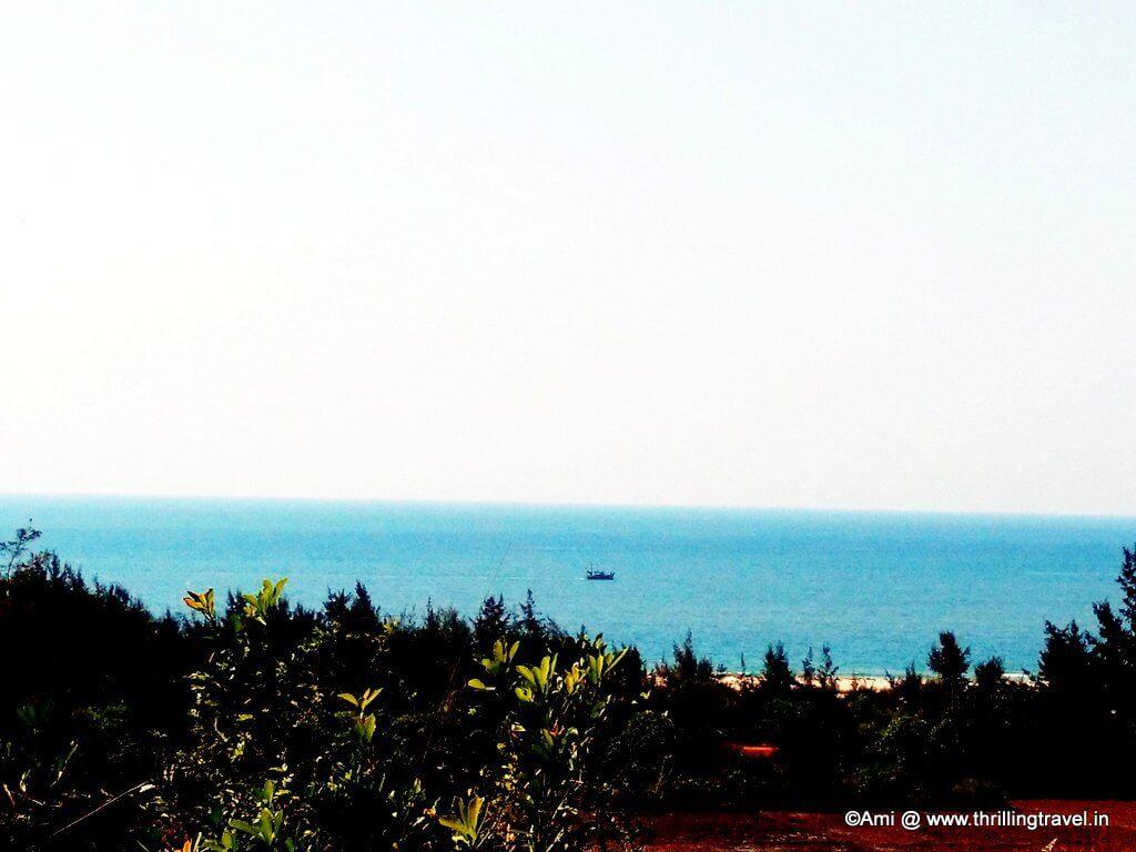 Glimpse of the Apsarakonda Beach, Karnataka