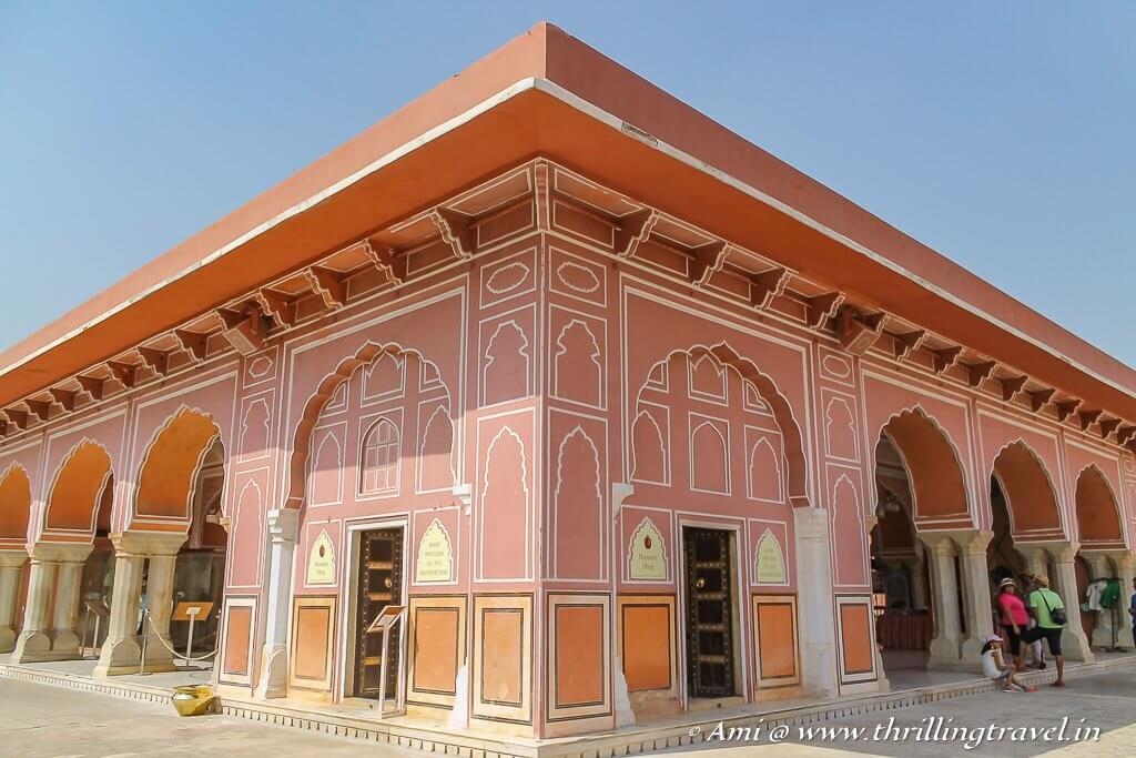 Diwan-I Khaas, City Palace Jaipur