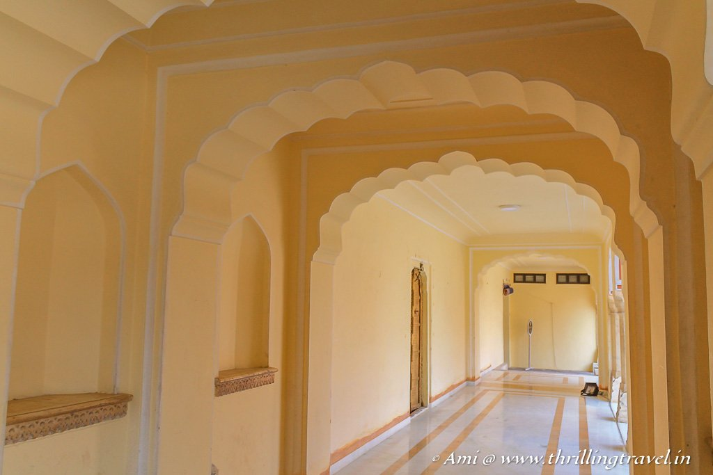 Passages at City Palace, Jaipur