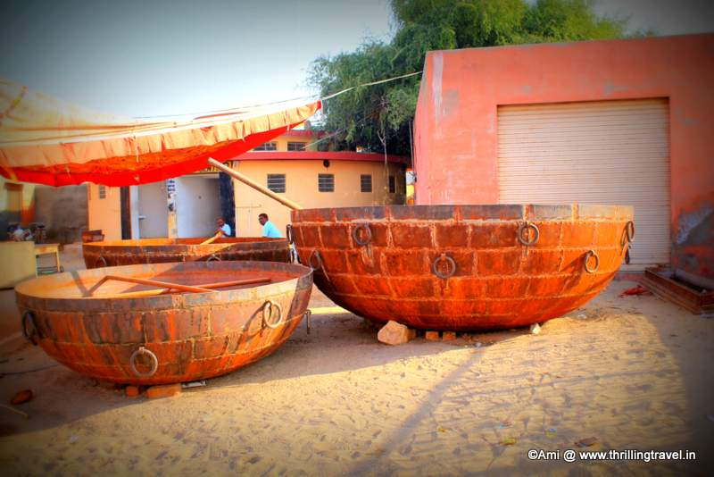 Vessels outside Karni Mata Rat Temple, Deshnok