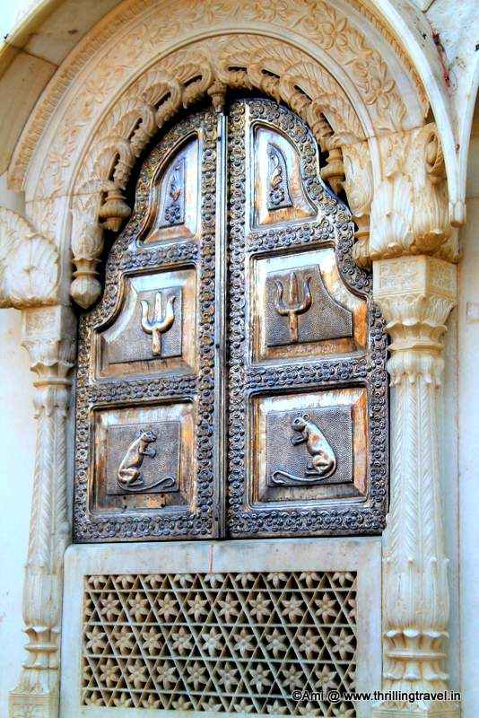 Silver Windows of the Karni Mata Rat Temple, Deshnok