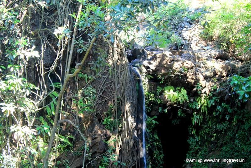 Caves around the Apsarakonda Falls