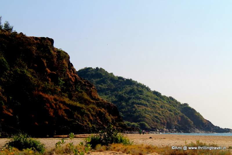 Hills around Apsarakonda Beach