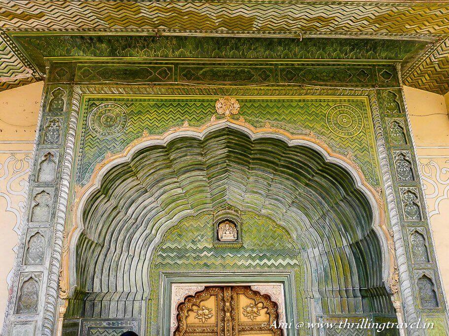 Leheriya Gate - the Spring gate of City Palace