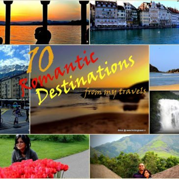 10 Romantic Destinations from my Travels