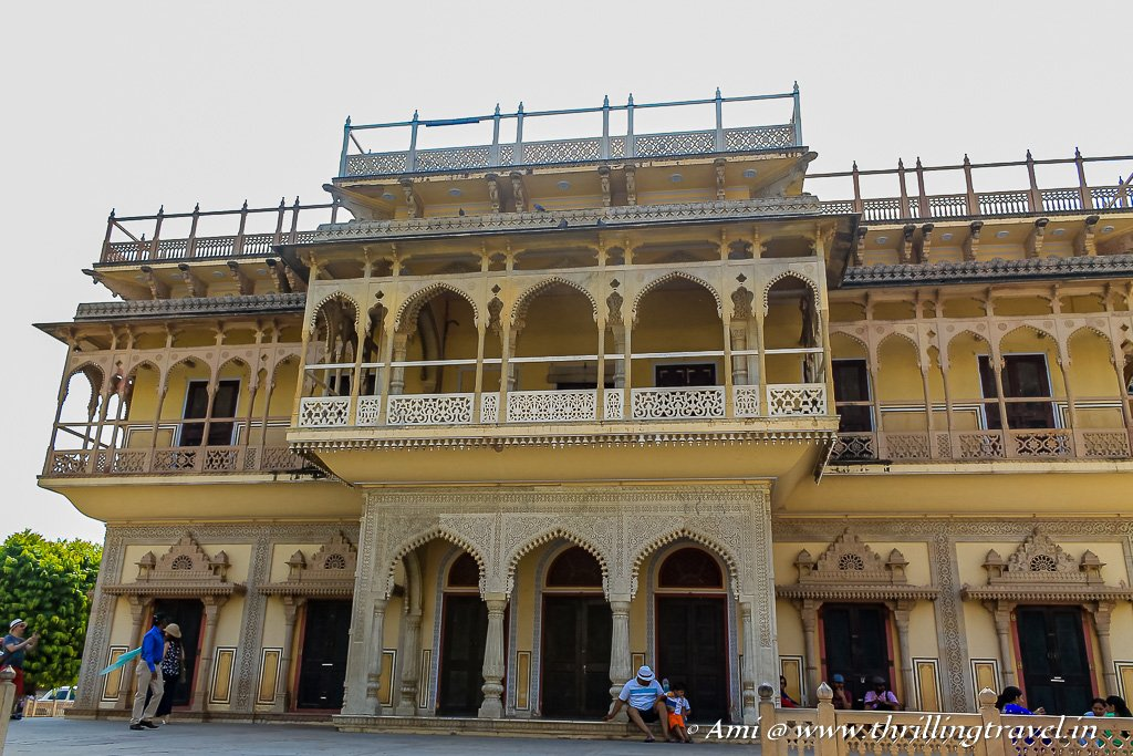 Mubarak Mahal - the reception and guest house of the City Palace Jaipur