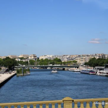 Along the River Seine in Paris