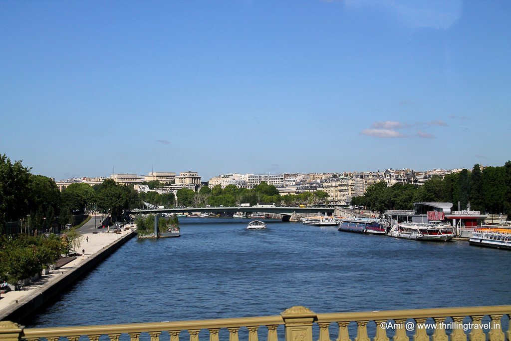 Left and Right Banks of Paris (Rive Gauche and Rive Droit)