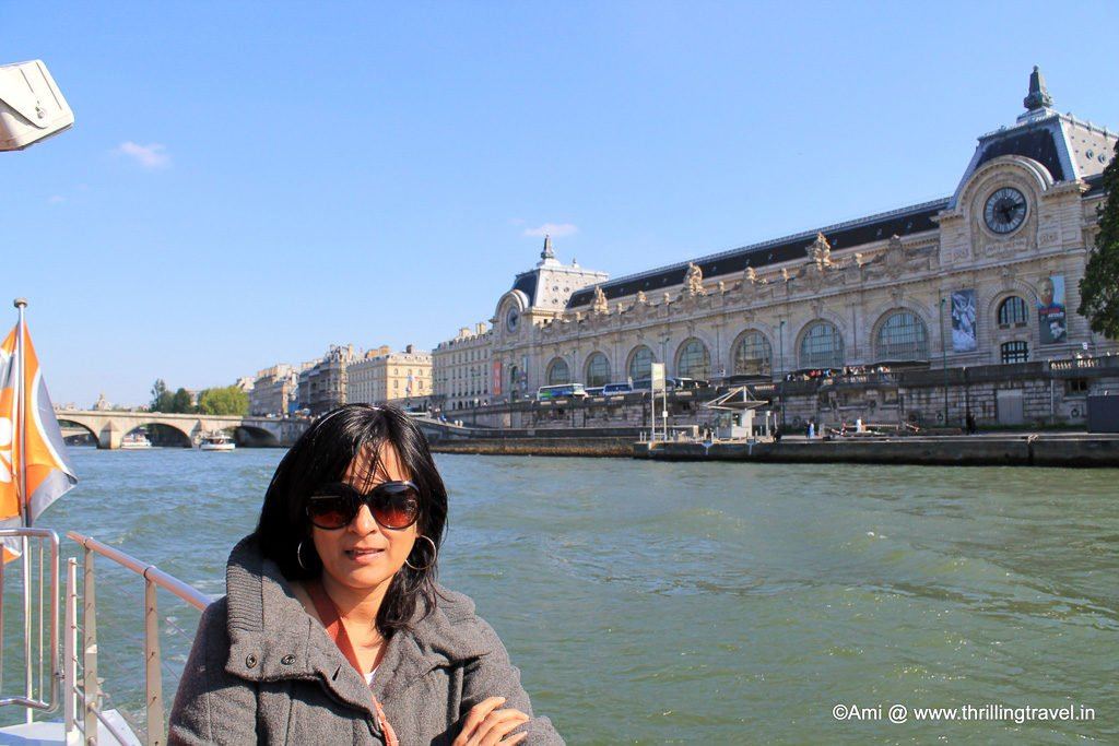 Musee d'Orsay Or the Orsay Museum in the backdrop