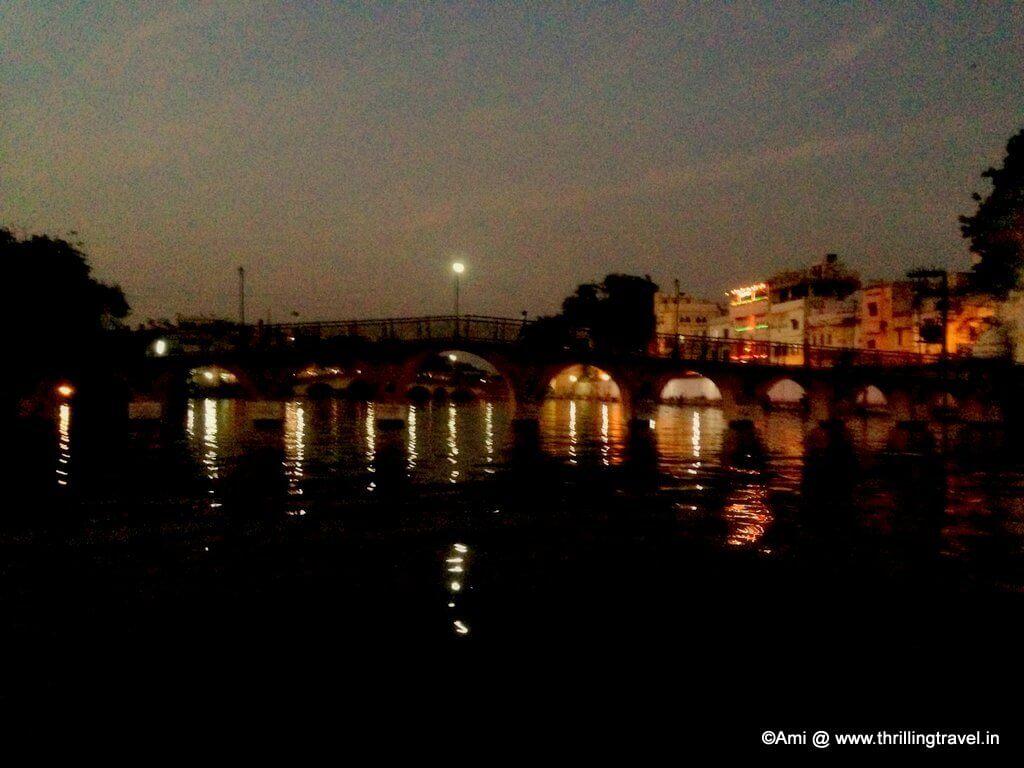 Swaroop Sagar Bridge, Lake Pichola, Udaipur