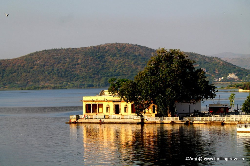 Bathing ghats & Chabutaras, Lake Pichola, Udaipur