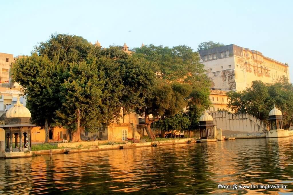 Colors at Midday, Lake Pichola, Udaipur