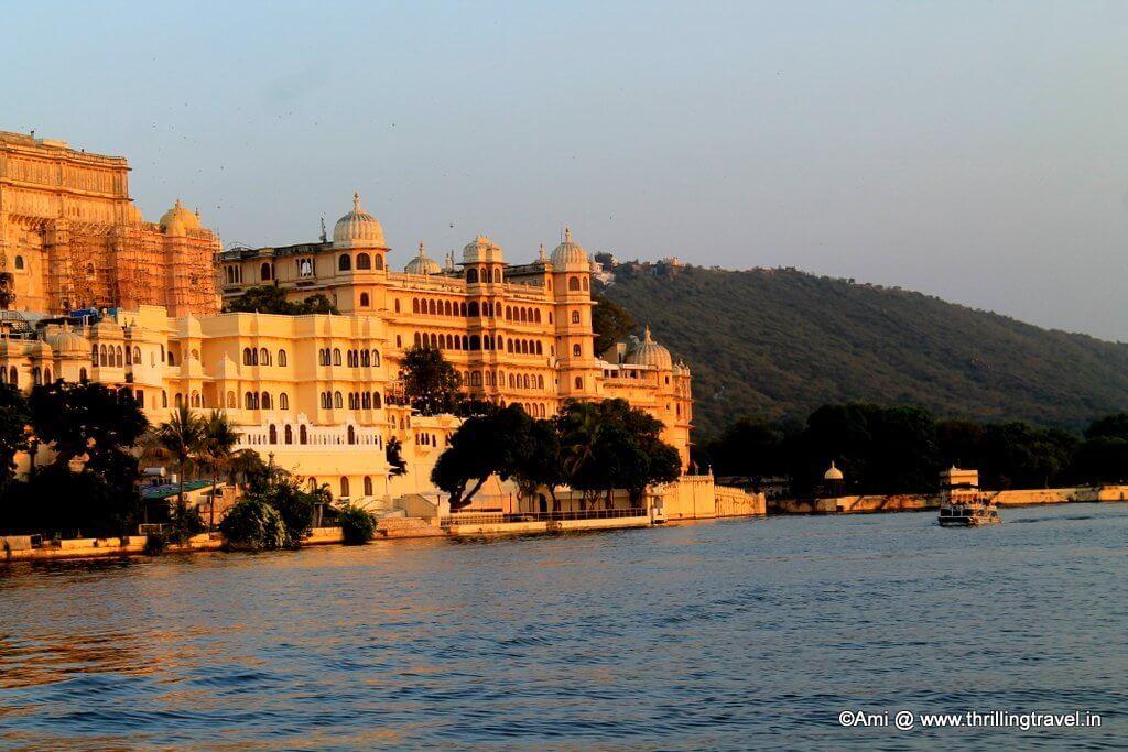 City Palace along Lake Pichola, Udaipur