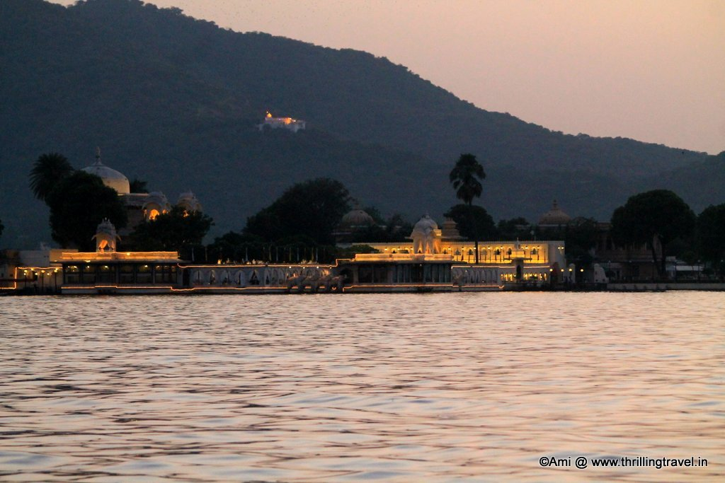 Jag Mandir at Dusk, Lake Pichola, Udaipur