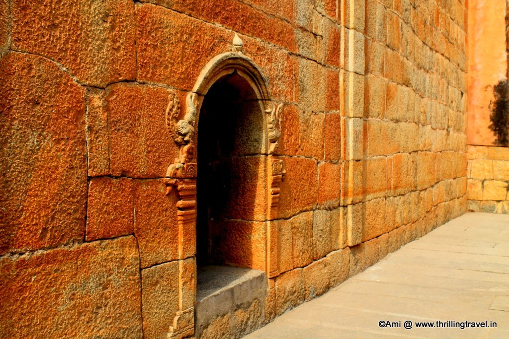 Small alcoves and resting places for the guards of Bangalore Fort, Bengaluru